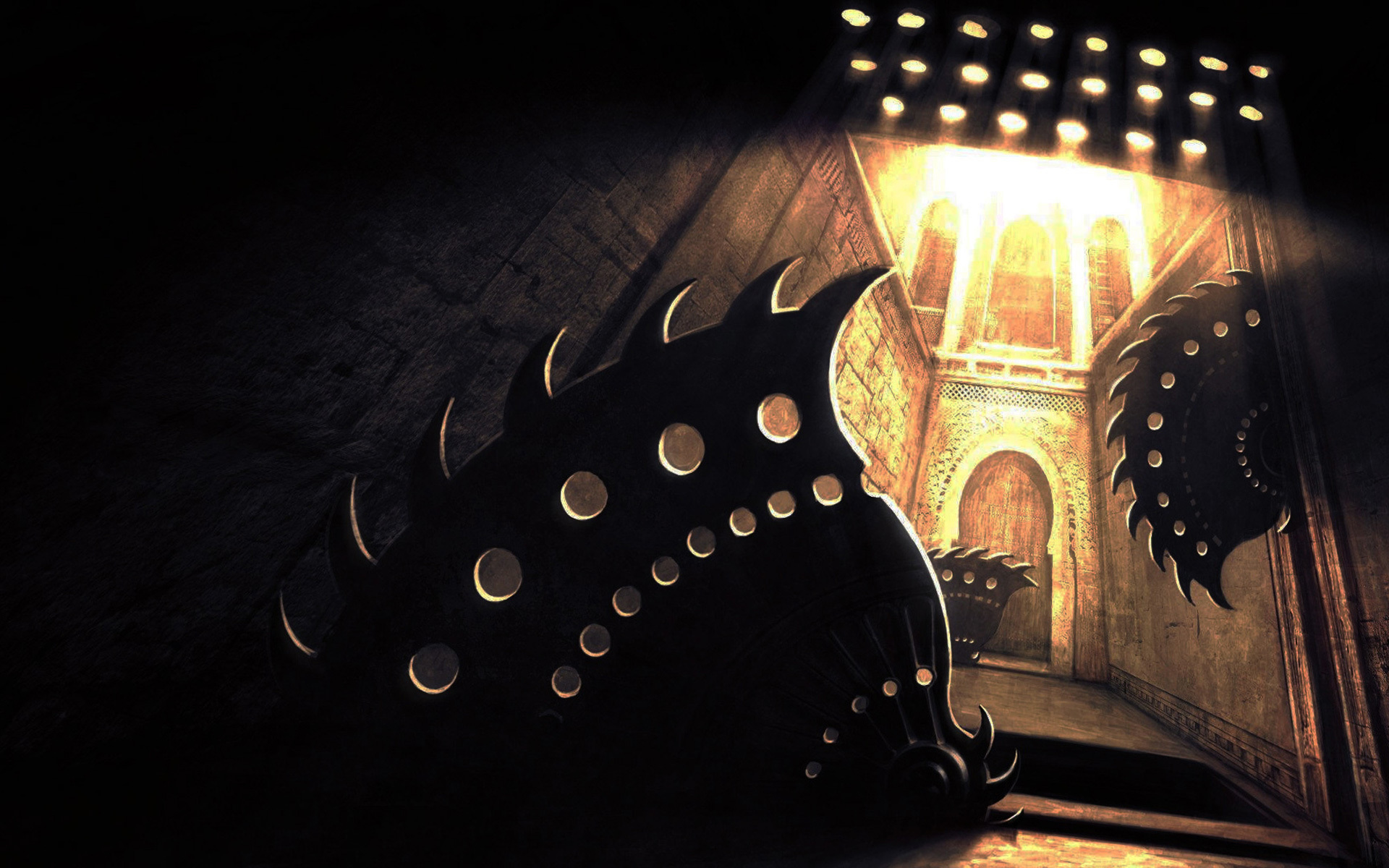 high resolution image of prince of persia  wallpaper of the sands of time  an obstacle