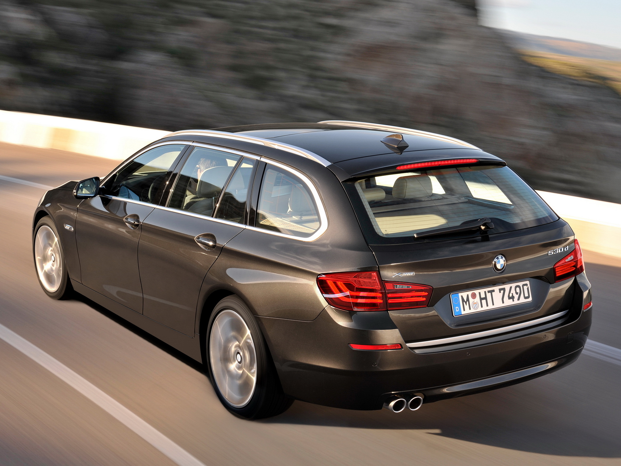 High Definition Wallpaper Of Bmw 530d Image Of Xdrive