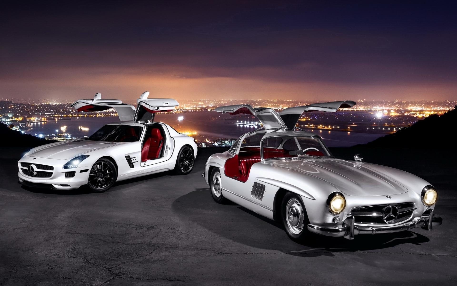 Nice photo of mercedes benz photo of 300 sl gullwing for Nice mercedes benz
