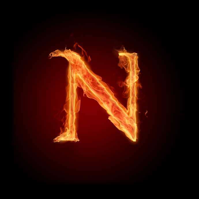 Beautiful image of N, desktop wallpaper of letter, letter ...