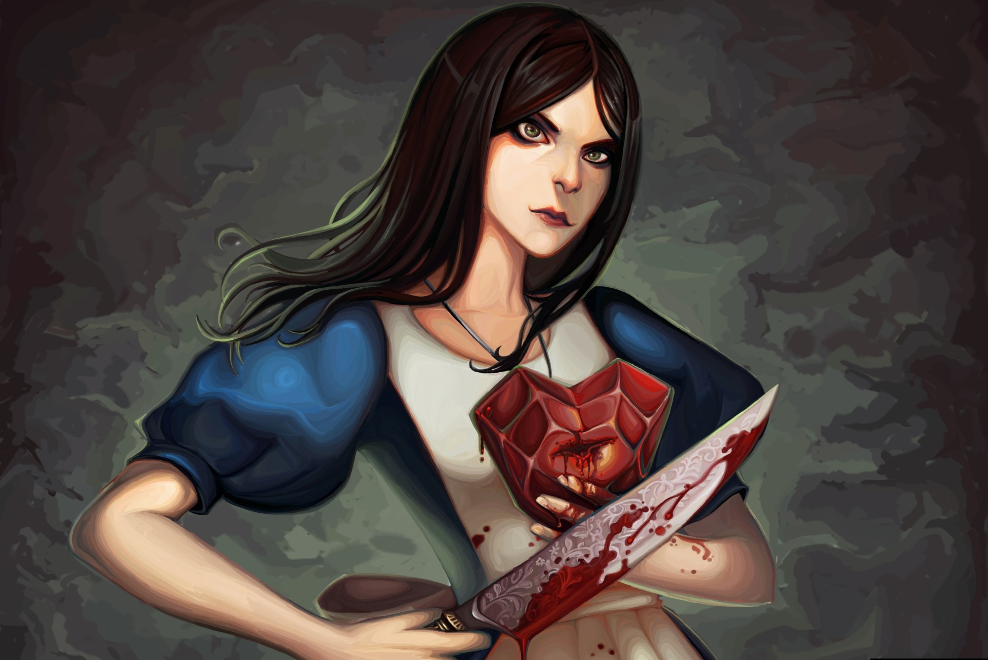 Alice madness retutns porn hentai video